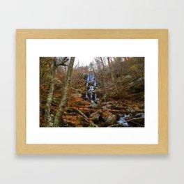 Shenandoah Waterfall II Framed Art Print