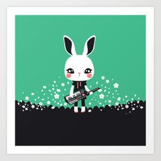 KeyZtar & Bunbina Art Print
