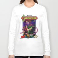 castlevania Long Sleeve T-shirts featuring SwansonVania by Andrew Leta