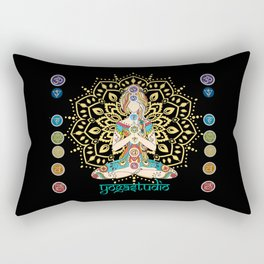Yoga Studio Rectangular Pillow