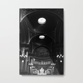 The Lights in the Cathedral Metal Print