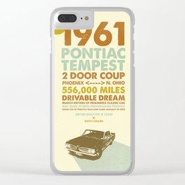 KEITH'S 1961 PONTIAC TEMPEST II Clear iPhone Case