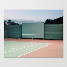Tennis Courts Canvas Print