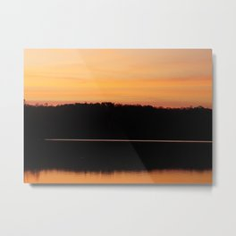 Sunrise at Natchez Trace Park in Tennessee Metal Print