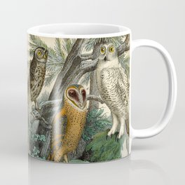 3 Owls Coffee Mug