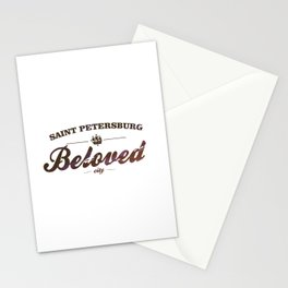Beloved city Stationery Cards
