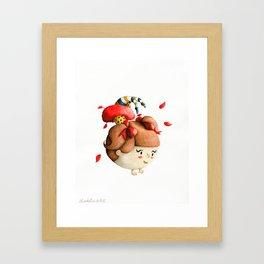 Little Acrobat Framed Art Print