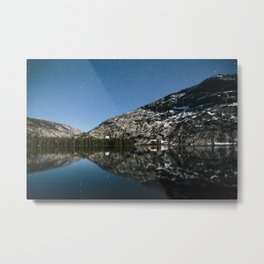 Merced Lake Night Metal Print