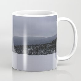 Snowshoeing Across Lonesome Lake - NH Coffee Mug