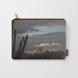 Arizona Four Peaks in Winter Carry-All Pouch