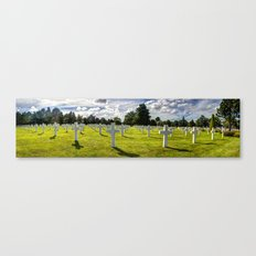 NORMANDY AMERICAN CEMETERY AND MEMORIAL Canvas Print