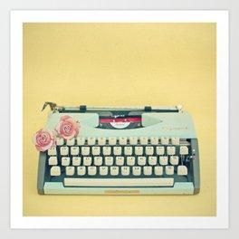 The Typewriter Kunstdrucke