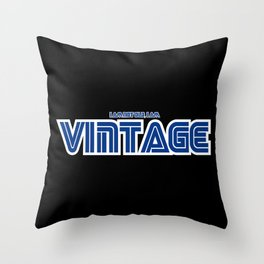 I Am Not Old, I Am Vintage - Sega Style Throw Pillow