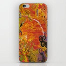 Orange Emotion iPhone Skin