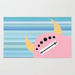 Pink Monster Rug
