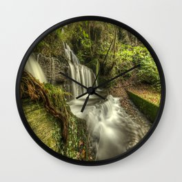 Rushing Waters Wall Clock