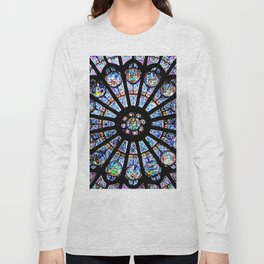 Cathedral Stained Glass Long Sleeve T-shirt