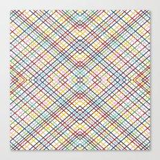 Weave 45 Mirror Canvas Print
