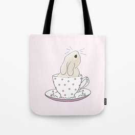 Little cup of fluff Tote Bag