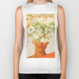 SuperFlowerHead Biker Tank