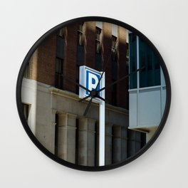 Downtown Baltimore Wall Clock