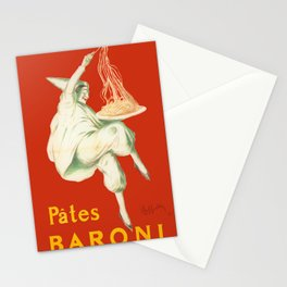 Vintage poster - Pates Baroni Stationery Cards