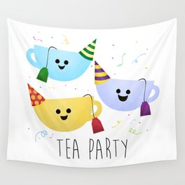 Tea Party Wall Tapestry