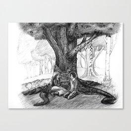 Adagrid - Ingrid Canvas Print