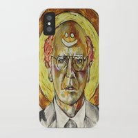 larry david iPhone & iPod Cases featuring Larry David by Carson Kaiser