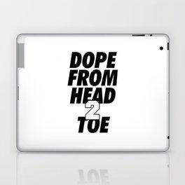 Dope Head 2 Toe Laptop & iPad Skin