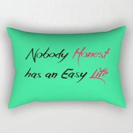Honest Life Rectangular Pillow