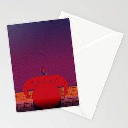 The Evil In My Backyard Stationery Cards