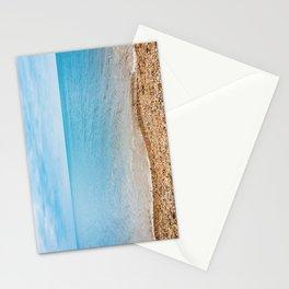 sea sand beach 4 Stationery Cards