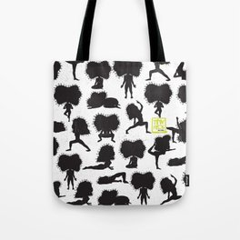 Yoga Style - Black Tote Bag