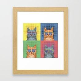 Cats Art Framed Art Print