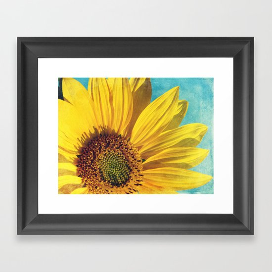 pure sunshine Framed Art Print