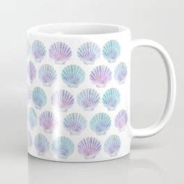 iridescent shells pattern Coffee Mug