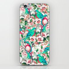 Birds & Flowers #society6 #decor #buyart iPhone Skin