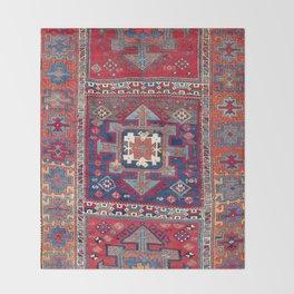 Kurdish Malatya East Anatolian Rug Throw Blanket