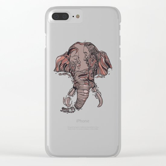I Forget Where We Were Clear iPhone Case