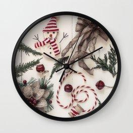 Rustic Charm Wall Clock