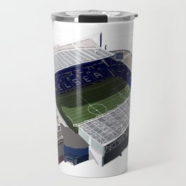 Stamford Bridge Stadium Travel Mug