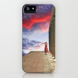 (I'll follow you to) The Edge of the World iPhone Case