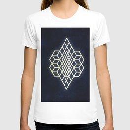 Diamond cubism T-shirt