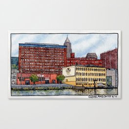 The Flats Canvas Print