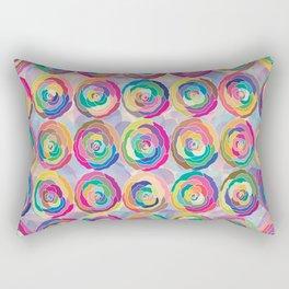 Colorful Roses Rectangular Pillow