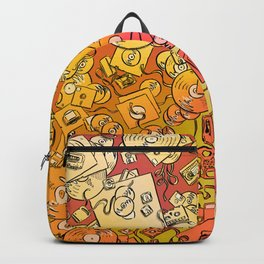 Technology Psychedelic Warm Backpack