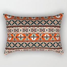 Navajo Pattern 2 Rectangular Pillow
