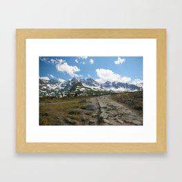 Dolina Gąsienicowa Framed Art Print