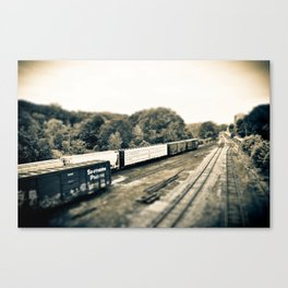 The Train Gang Canvas Print